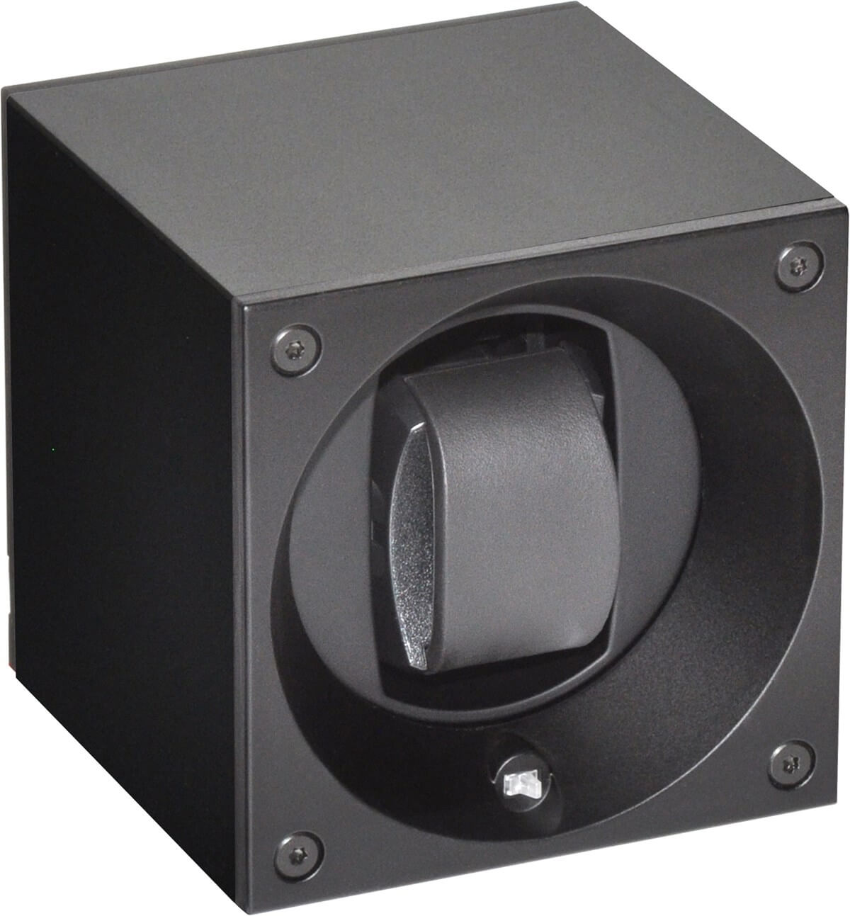 Swiss Kubik Aluminium black watch winder