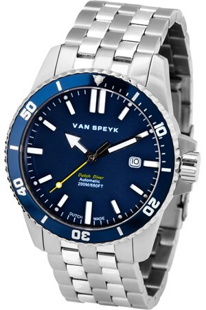 Van Speyk Dutch Diver Blue watch