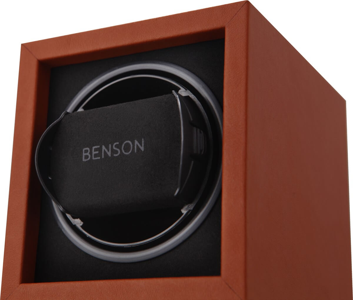Benson Compact 1.17. Light Brown Leather