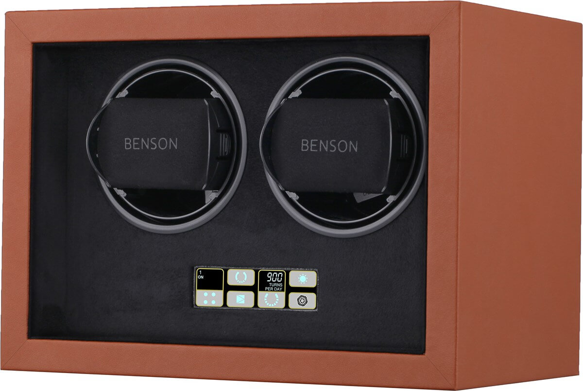Benson Compact 2.18 Light Brown Leather