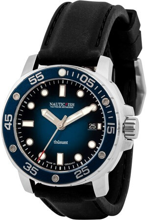 NauticFish Thusunt Blao Black Rubber