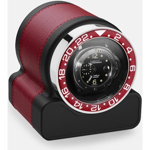 Scatola del Tempo 03008.REDSIL Red bezel